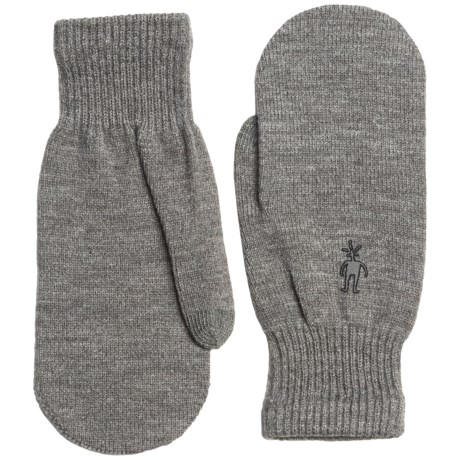 SmartWool Knit Mittens - Merino Wool Blend (For Women)