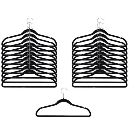 neatfreak! Non-Slip Felt Clothes Hanger - 20-Pack