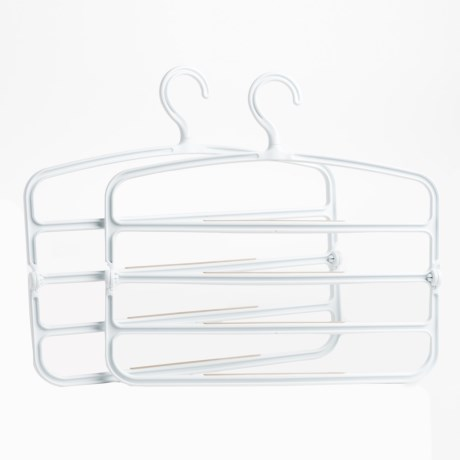 neatfreak! 4-Tier Folding Pant Hangers - 2-Pack