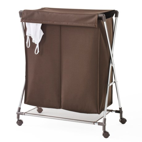 neatfreak! Two-Compartment Folding Clothes Hamper