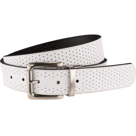 Nike Perforated Leather Belt - Reversible (For Women)
