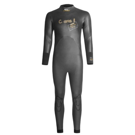 Camaro C1-11 4/3mm Neoprene Wetsuit - Long Sleeve (For Men)