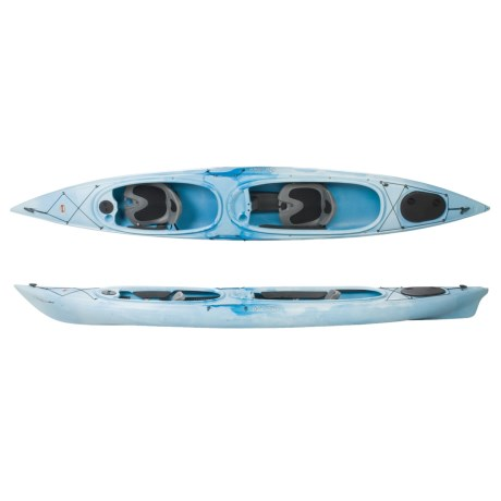 Old Town Dirigo 155 XT Tandem Recreational Kayak - 15'