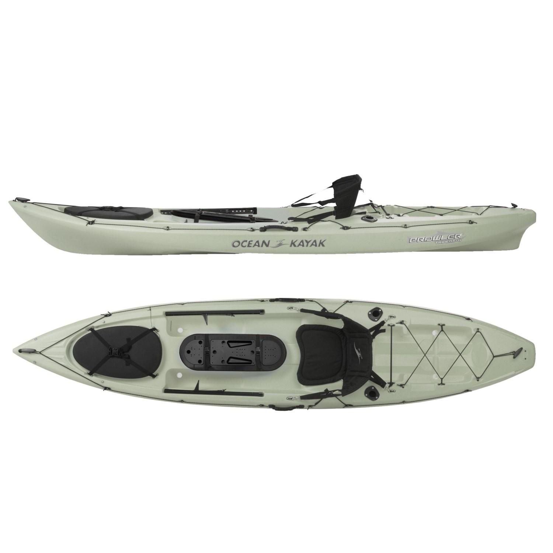 Ocean kayak prowler trident fishing kayak 11 5 39 sit on for Ocean kayak fishing