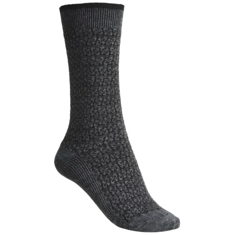 Goodhew Woodblock Merino Wool Socks - Lightweight (For Women)