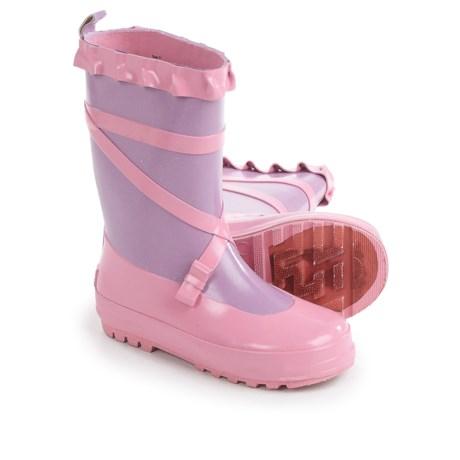 Splashers Ballerina Rain Boots - Waterproof (For Little and Big Girls)