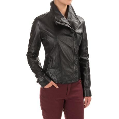 Bod & Christensen Leather Jacket (For Women)