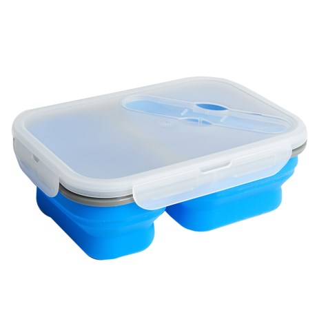 Alpine Mountain Gear Collapsible Silicone Food Container - 3-Piece