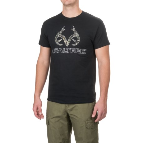 Realtree Camo Logo T-Shirt - Short Sleeve (For Men)