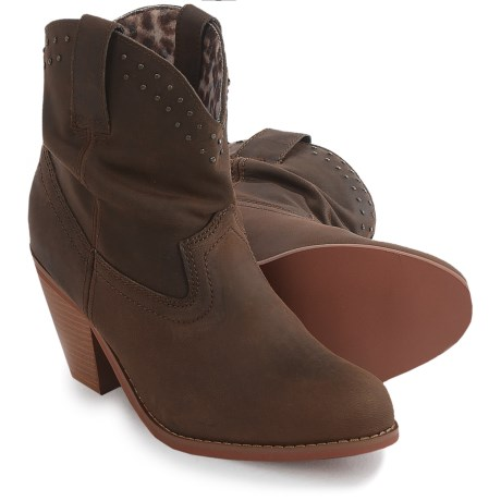 Dingo Lou Lou Boots - Leather, Round Toe (For Women)