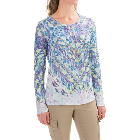 prAna Ravena Burnout Shirt - Organic Cotton, Long Sleeve (For Women)