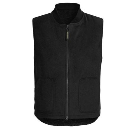 Irish Setter Fisher Wool Vest - Sherpa Fleece Lined (For Men)