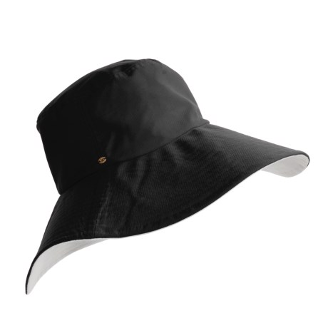 Betmar Ocean Beach Reversible Hat - UPF 50+ Sun Protection, Cotton (For Women)