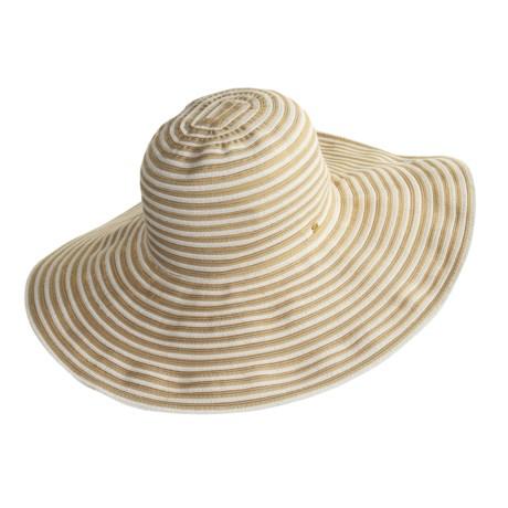 Betmar Glamour Sun Hat - Wide Brim (For Women)