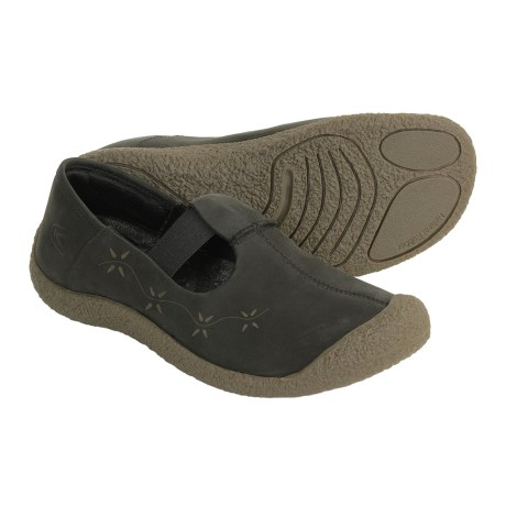Keen Emily Leather Shoes - Slip-Ons (For Women)
