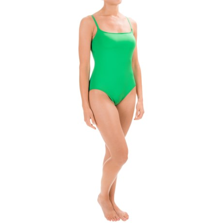 La Blanca Solid One-Piece Swimsuit - Padded Cups (For Women)
