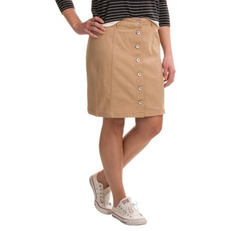 G.H. Bass & Co. Basic Chino Skirt (For Women)