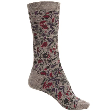 Cabot & Sons Oriental Socks - Merino Wool, Crew (For Women)