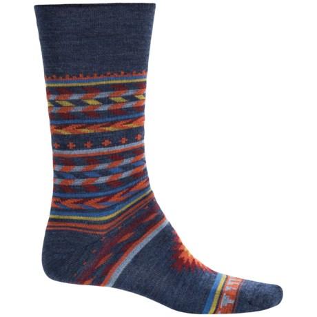 Cabot & Sons Inca Stripes Socks - Merino Wool, Crew (For Women)