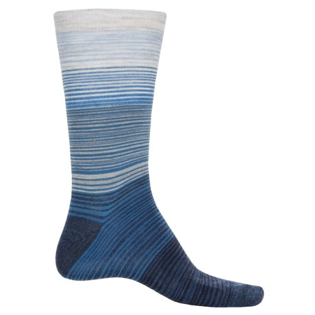 Cabot & Sons Hombre Stripes Socks - Merino Wool, Crew (For Men)