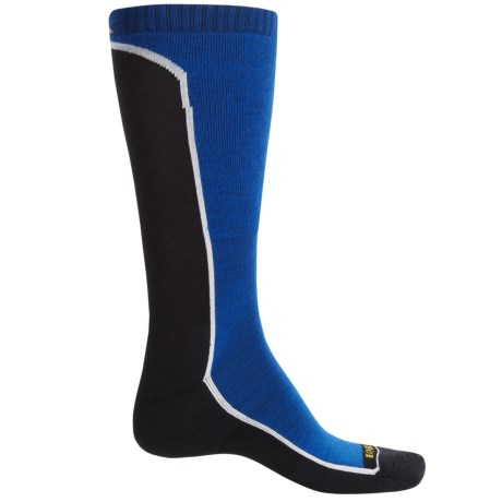Cabot & Sons Fault Line Ski Socks - Merino Wool, Over the Calf (For Men)
