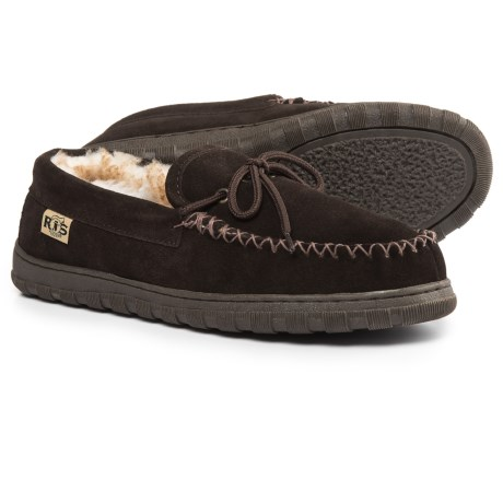RJ'S Fuzzies Sheepskin Rj's Fuzzies Sheepskin Moccasins - Suede (For Men)