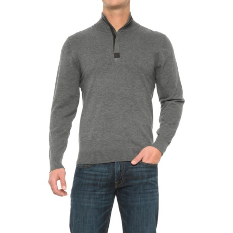Tricots St. Raphael Zip Neck Sweater (For Men)