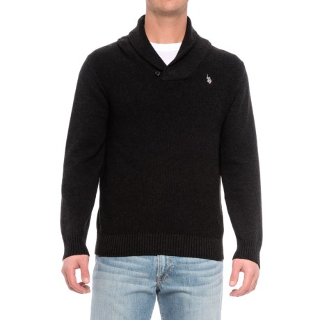 US Polo Association U.S. Polo Assn. Shawl Collar Sweater (For Men)