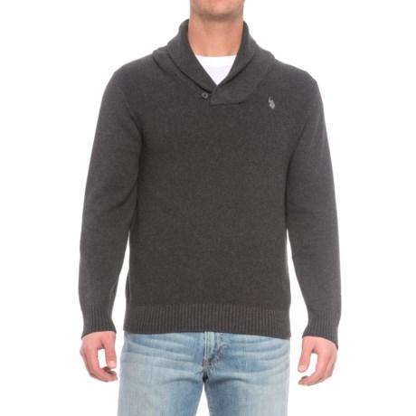 U.S. Polo Assn. Shawl Collar Sweater (For Men)