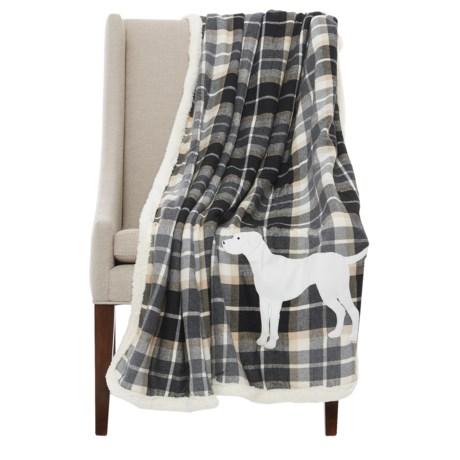 "Telluride Sherpa Dog Throw Blanket - 50x60"""