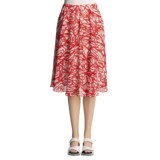 Lafayette 148 New York Spring Daisy Skirt - Crinkled Print (For Women)