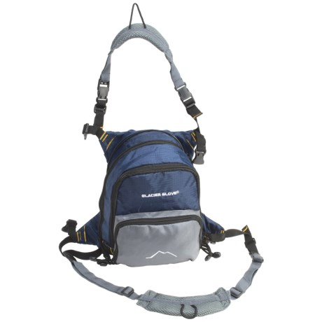 Glacier Glove Universal Chest Pack - Expandable, Fishing
