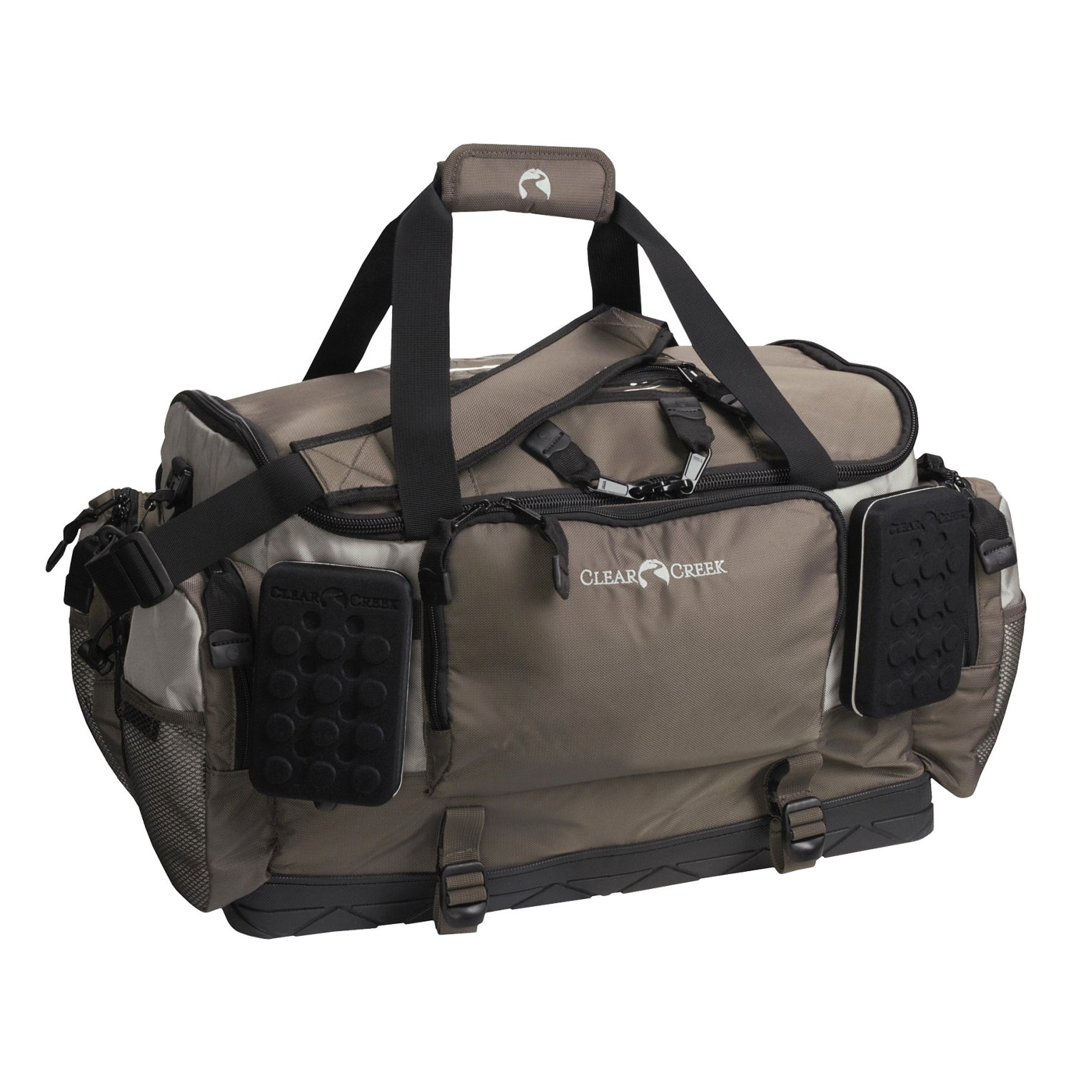 Clear creek the rush creek fly fishing gear bag w fly for Fly fishing gear closeouts