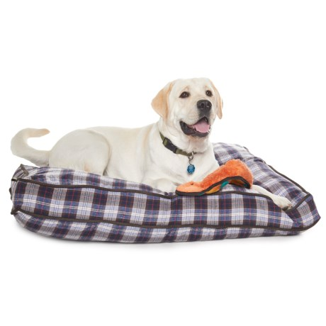 """Telluride Plaid Rectangle Dog Bed - 40x28"""""""
