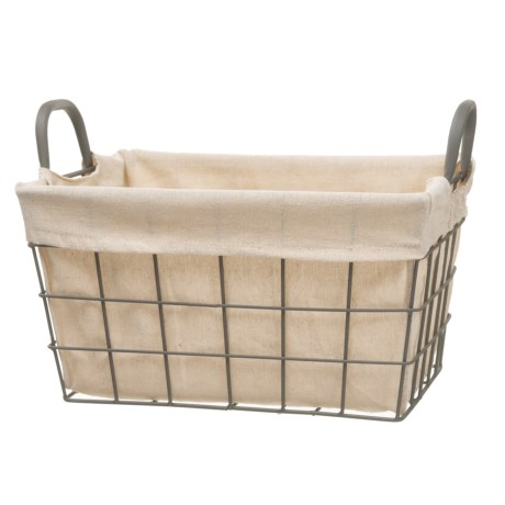Taylor Madison Designs Tapered Rectangle Wire Basket - Medium
