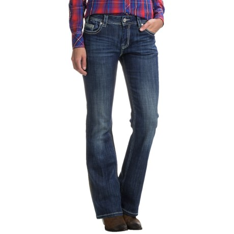Rock & Roll Cowgirl Bootcut Jeans - Mid Rise (For Women)