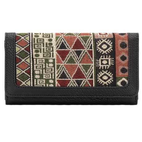 Bandana by American West Tulum Flap Wallet