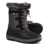 Pajar Joanie Mid Side-Zip Pac Boots - Waterproof, Insulated, Faux-Fur Trim (For Girls)