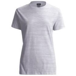 Hanes LightweightT-Shirt - Crew Neck, Short Sleeve (For Women)