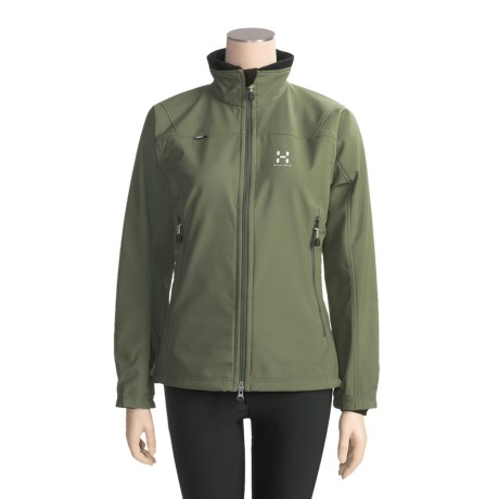 Haglofs Tropo Jacket - Soft Shell (For Women)