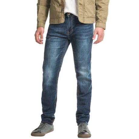 Seven7 Back Pocket Flap Stretch Jeans - Slim Fit (For Men)
