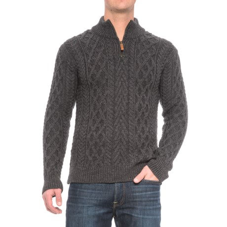 Inis Crafts Aran Sweater - Merino Wool (For Men)
