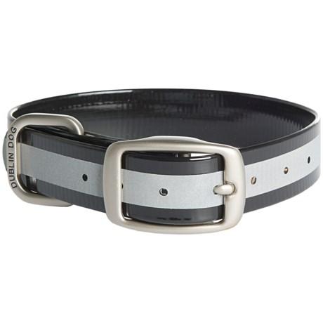 Dublin Dog No-Stink Reflex Dog Collar - Waterproof