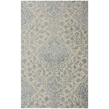 Devgiri Hand-Tufted Wool Area Rug - 5x8'