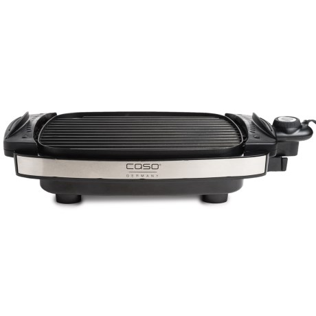 Frieling Caso Indoor Non-Stick Grill and Griddle - Aluminum, 1800W