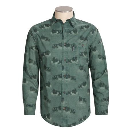 Woolrich Mountain Run Shirt - Long Sleeve (For Men)