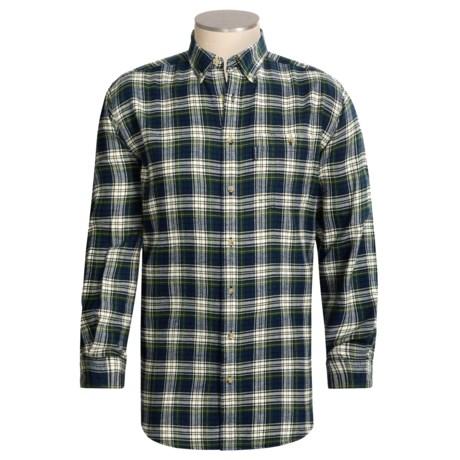 Woolrich Big Pine Flannel Shirt - Long Sleeve (For Tall Men)