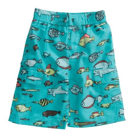 Hatley Board-Short-Style Swim Trunks (For Boys)