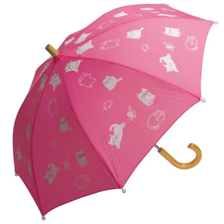 Hatley Child-Safe Umbrella - Wood Handle and Tip