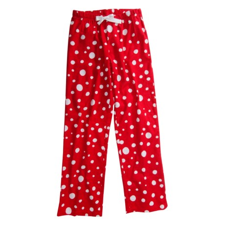 Hatley Brushed Flannel Pajama Pants - Cotton (For Women)